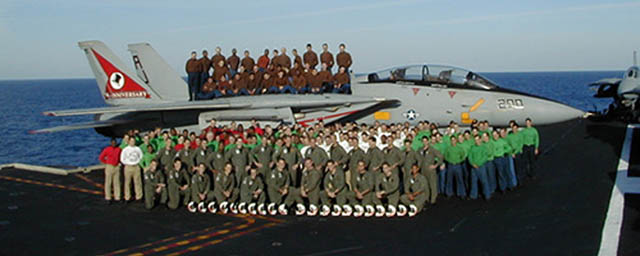 VF-14 Tophatters - Squadron Roster