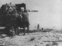 Flak 88 mm, artillería principal del DAK