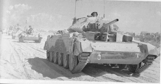tanke CRUSADER Crusade
