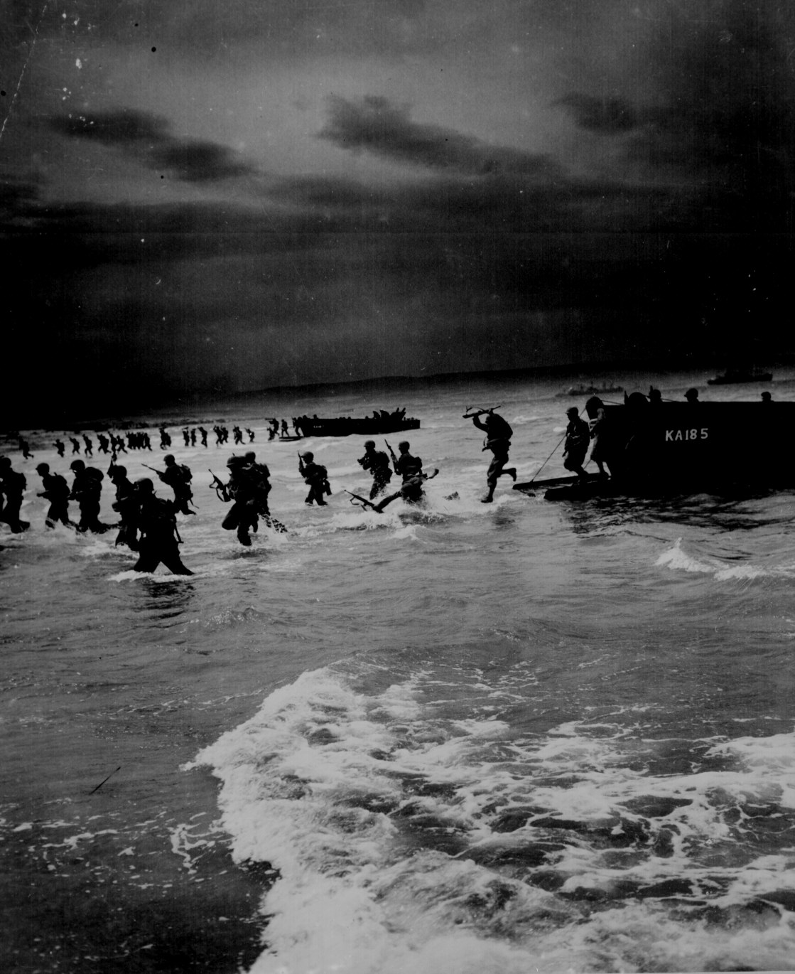 US Troops Landing In North Africa During Operation Torch
